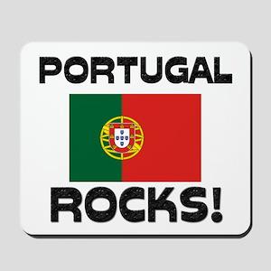 Portugal Rocks! Mousepad