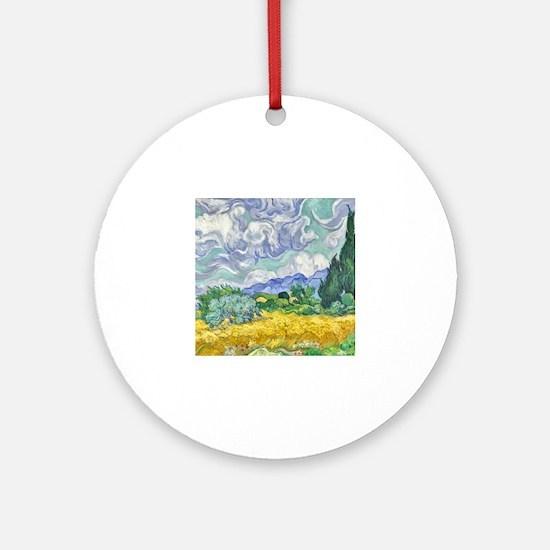 Cute Vincent van gogh Round Ornament
