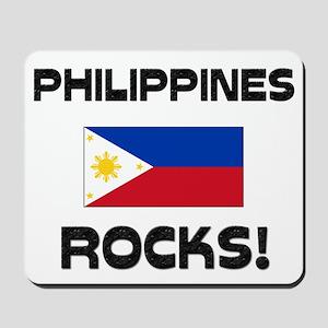 Philippines Rocks! Mousepad