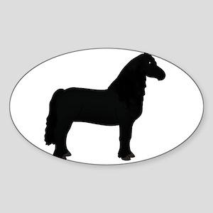 black horse 2 Sticker