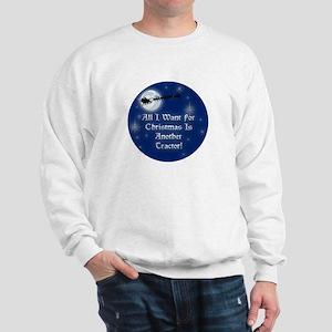 Another Tractor Christmas Sweatshirt