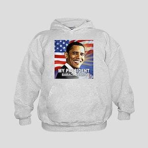 My President (Flag) Kids Hoodie