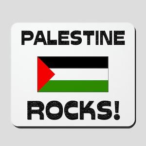 Palestine Rocks! Mousepad