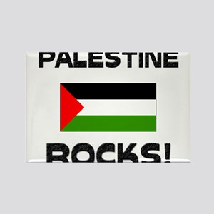 Palestine Rocks! Rectangle Magnet