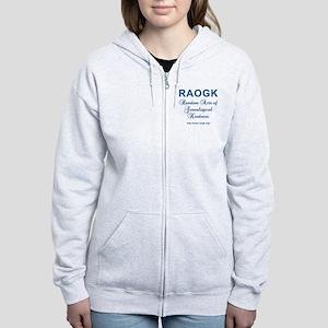 RAOGK Genealogy Women's Zip Hoodie
