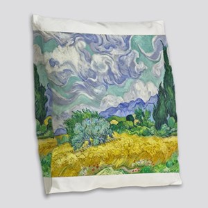 Van gogh Burlap Throw Pillow