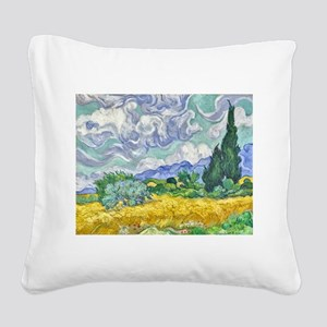 Van gogh Square Canvas Pillow