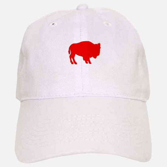 Red Buffalo Baseball Baseball Cap
