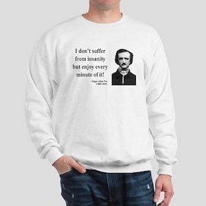 Edgar Allan Poe 17 Sweatshirt