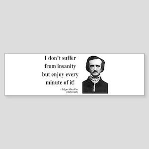 Edgar Allan Poe 17 Bumper Sticker