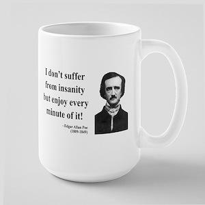 Edgar Allan Poe 17 Large Mug