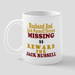 Husband & Jack Russell Terrier Missing Mug