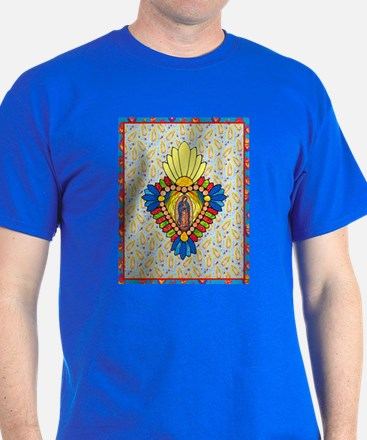 Stained Glass Virgin T-Shirt