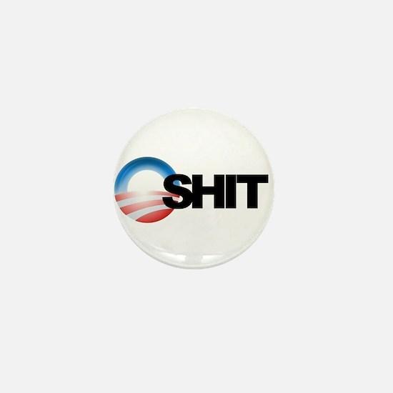 O shit Mini Button