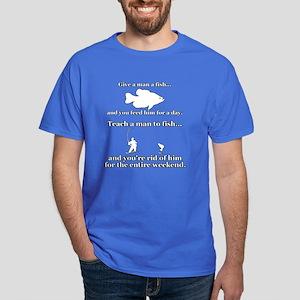 """Give A Man A Fish"" Dark T-Shirt"