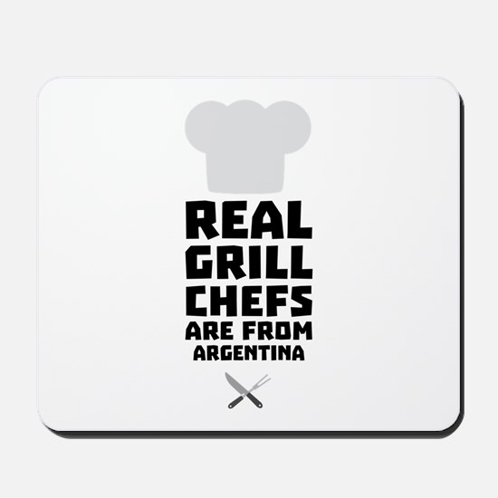 Real Grill Chefs are from Argentina C125 Mousepad