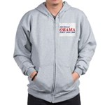Michelle Obama First Lady 2008 Zip Hoodie
