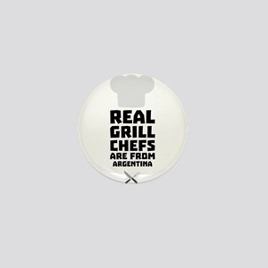 Real Grill Chefs are from Argentina C1 Mini Button