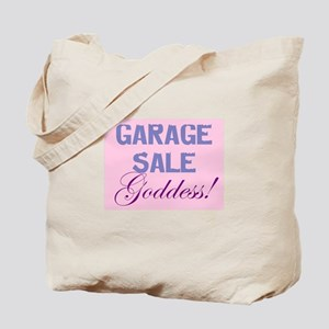 GARAGE SALE GODDESS Tote Bag