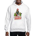 Barack and Roll Funny Obama S Hooded Sweatshirt