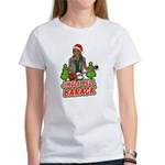Barack and Roll Funny Obama S Women's T-Shirt