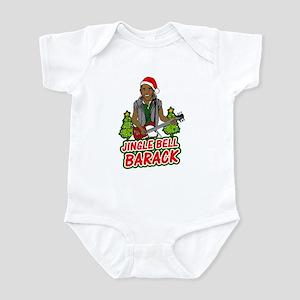 Barack and Roll Funny Obama S Infant Bodysuit