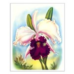 Gorgeous Orchid Vintage Painting Print Small Poste