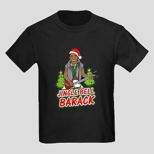 Barack and Roll Funny Obama S Kids Dark T-Shirt