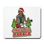 Barack and Roll Funny Obama S Mousepad