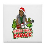 Barack and Roll Funny Obama S Tile Coaster
