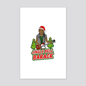 Barack and Roll Funny Obama S Mini Poster Print