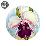 Gorgeous Orchid Vintage Painting Print 3.5