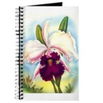 Gorgeous Orchid Vintage Painting Print Journal