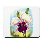 Gorgeous Orchid Vintage Painting Print Mousepad