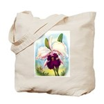 Gorgeous Orchid Vintage Painting Print Tote Bag