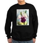 Gorgeous Orchid Vintage Painting Print Sweatshirt