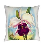 Gorgeous Orchid Vintage Painting Print Everyday Pi