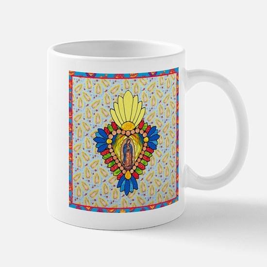 Stained Glass Virgin Mug