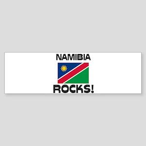 Namibia Rocks! Bumper Sticker