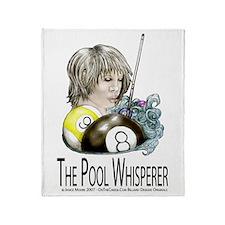 The Pool Whisperer Throw Blanket