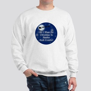 Another Rock Crawler Christmas Sweatshirt