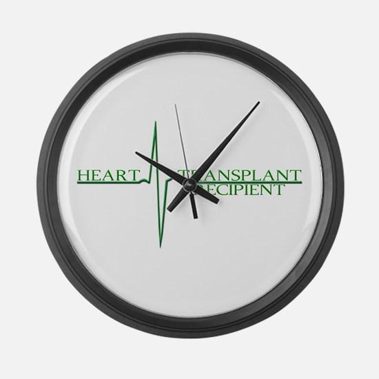 Heart Transplant Large Wall Clock