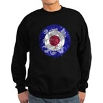 Vintage Dragon Mod Target Sweatshirt (dark)