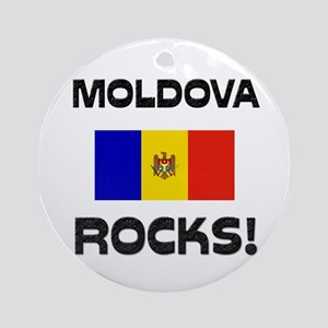 Moldova Rocks! Ornament (Round)