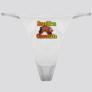 Brazilian Chocolate Eyes Classic Thong