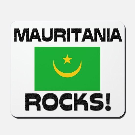 Mauritania Rocks! Mousepad