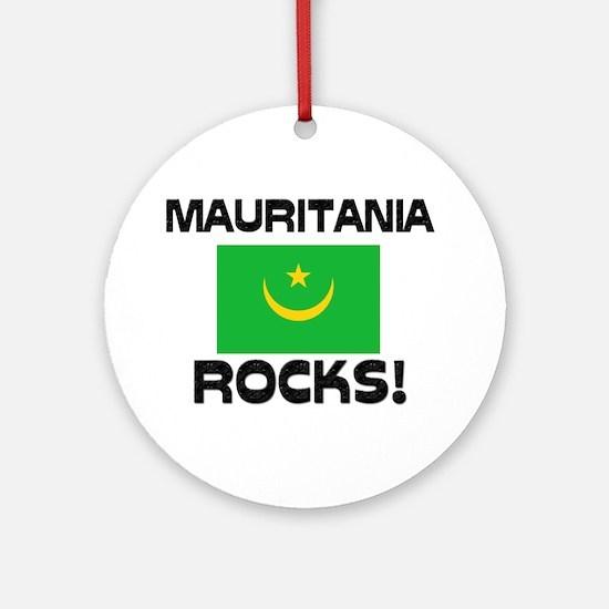 Mauritania Rocks! Ornament (Round)