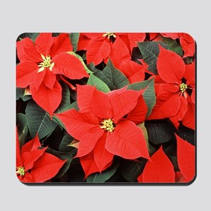 Poinsettia Mousepad