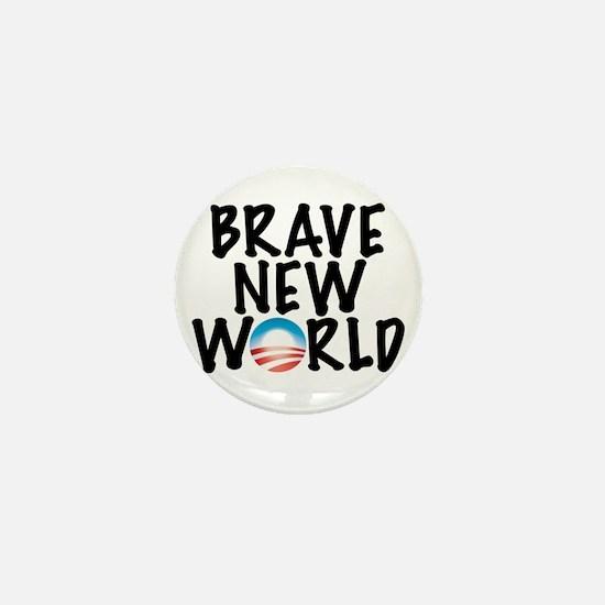 Brave New World Mini Button