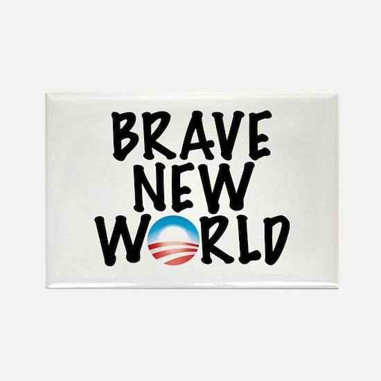 Brave New World Rectangle Magnet